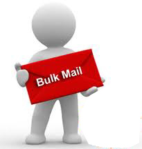 Using bulk email services